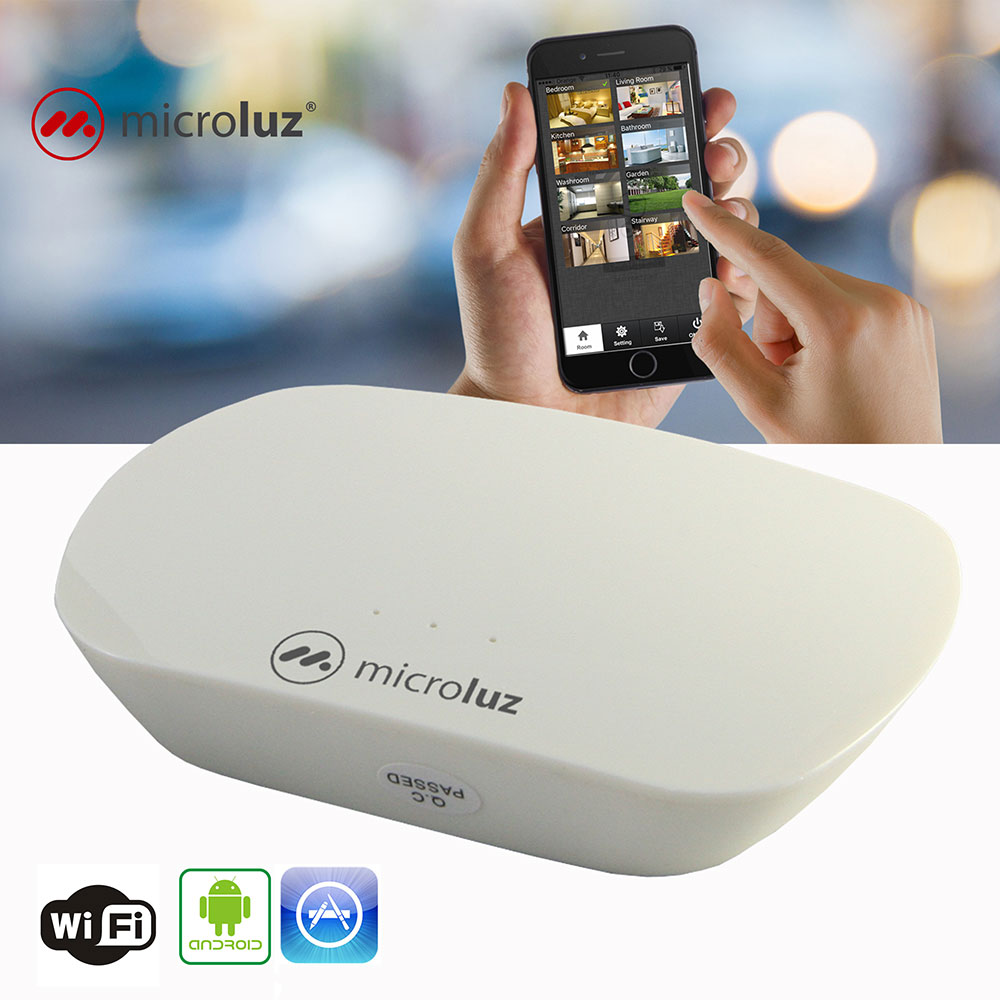 Interface WiFi-RF para RED local iOS/Android 8 zonas - MLD229WiRF