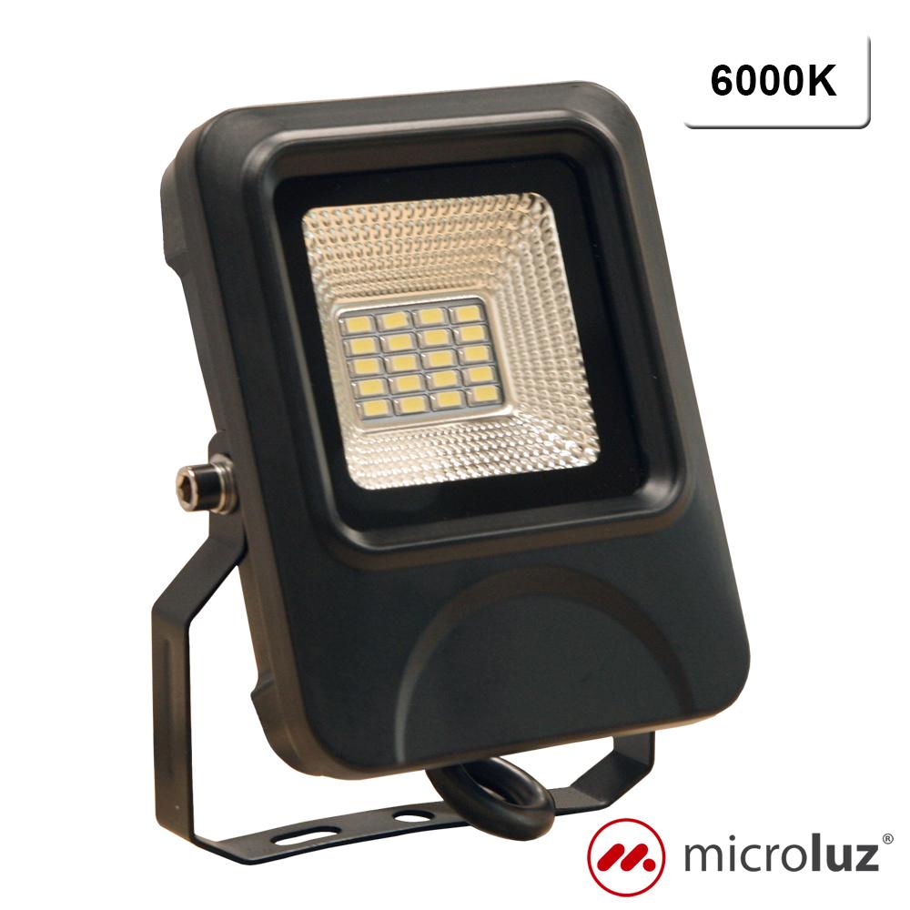 Proyector LED SMD 10W Blanco Frío