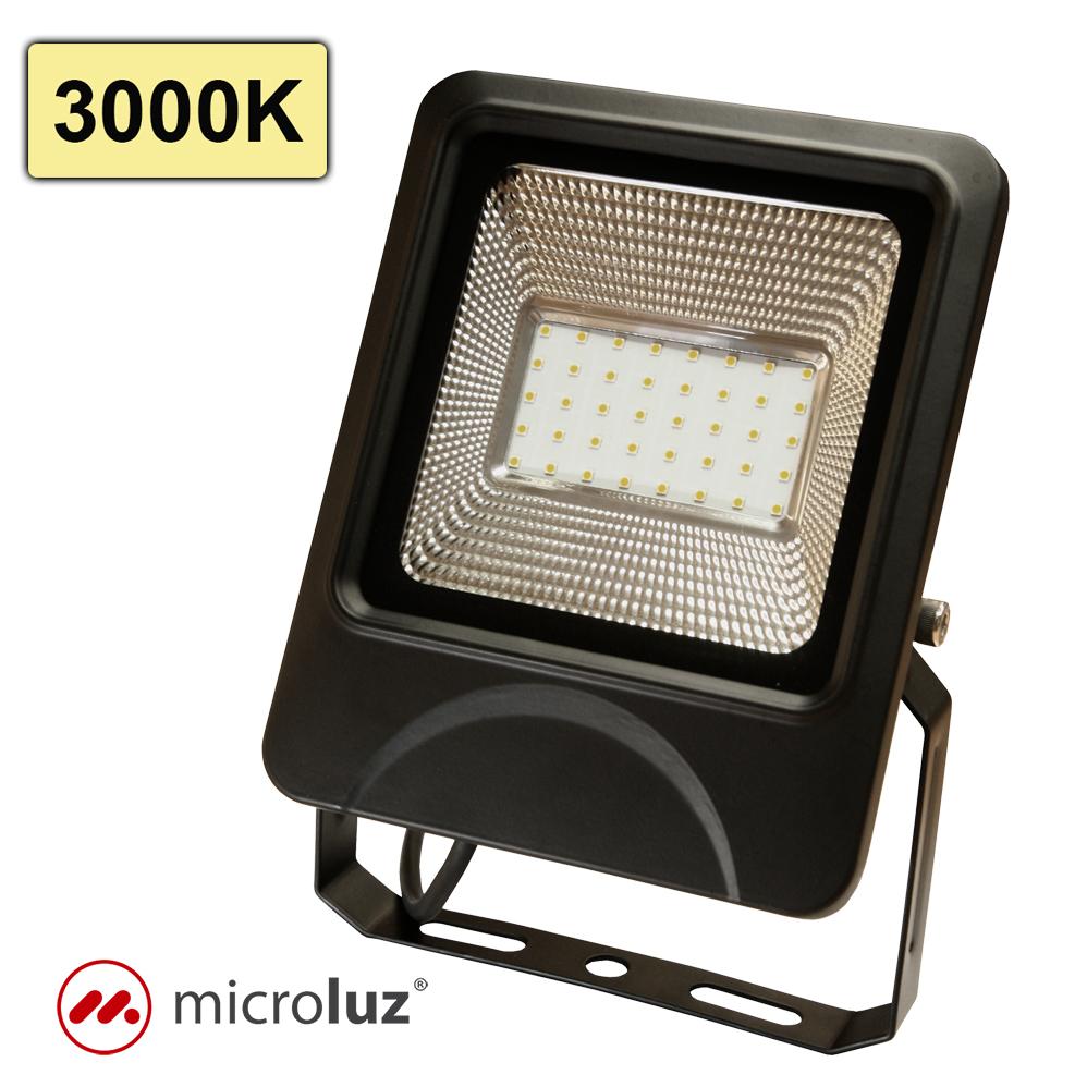 Proyector LED SMD 30W Blanco Cálido