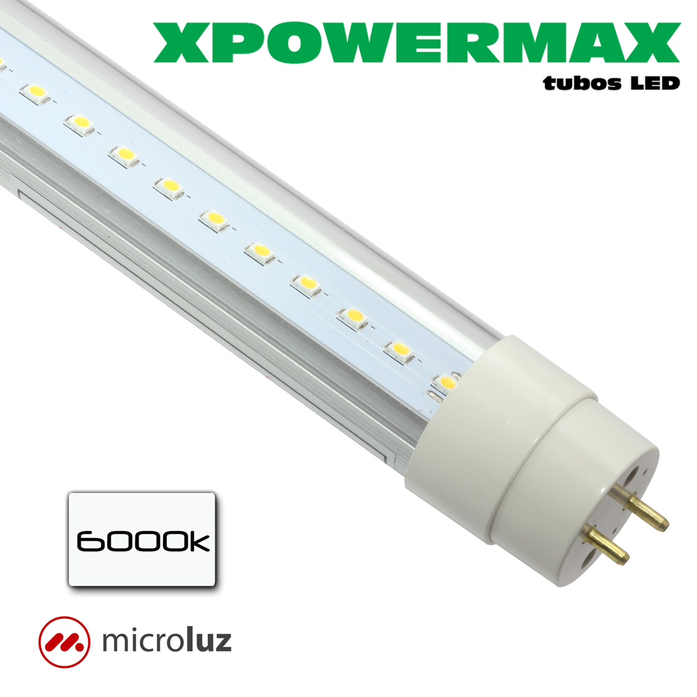 Tubo Fluorescente LED 18W 120cm 6000K