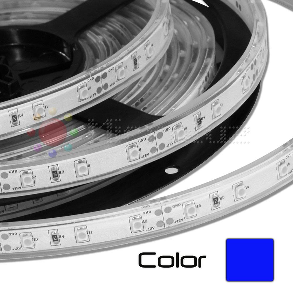 Tira de LED Impermeable 5m Azul