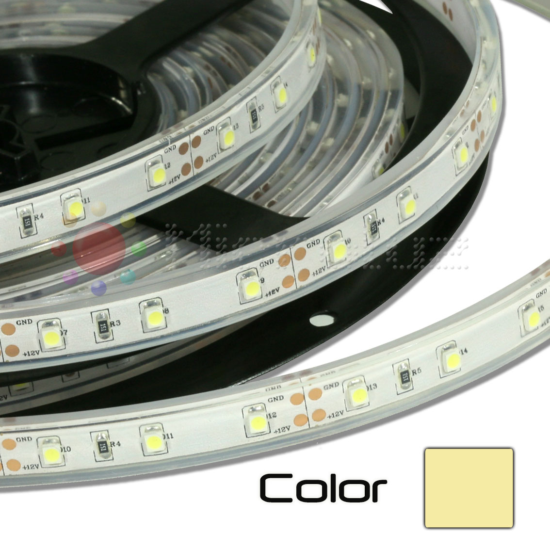 Tira de LED Impermeable 5m Blanco Calido