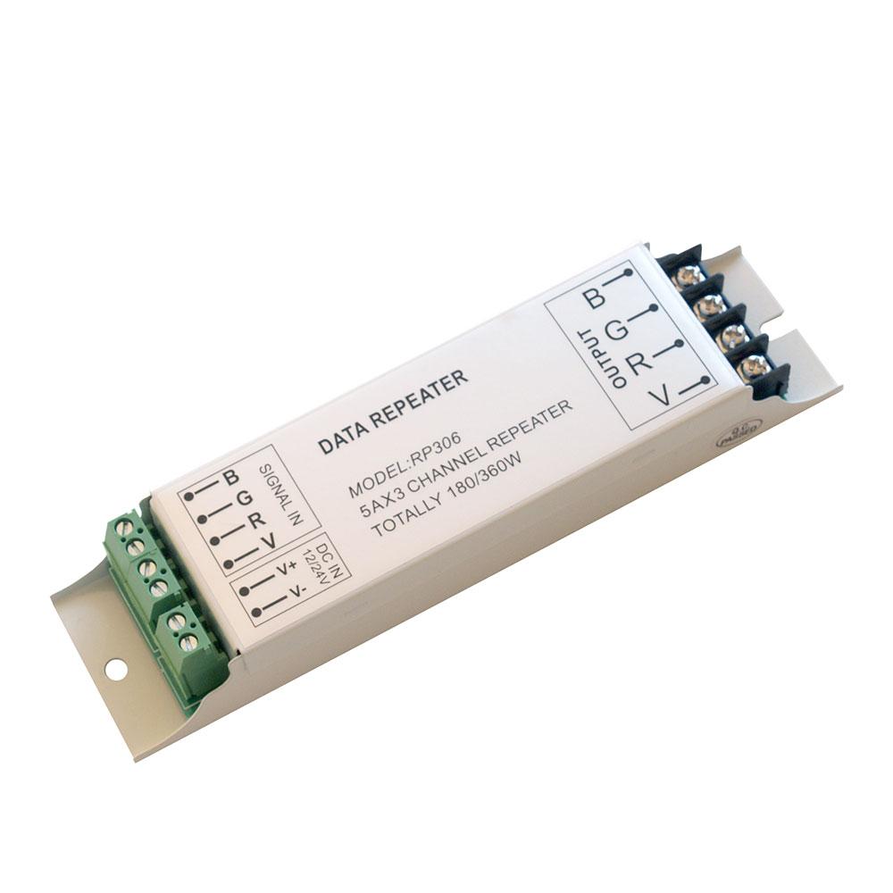 Amplificador/repetidor señal RGB