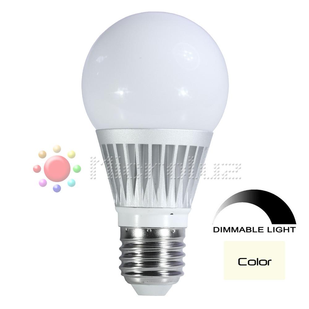 Lámpara LED 6W Rosca E27 Blanco Cálido
