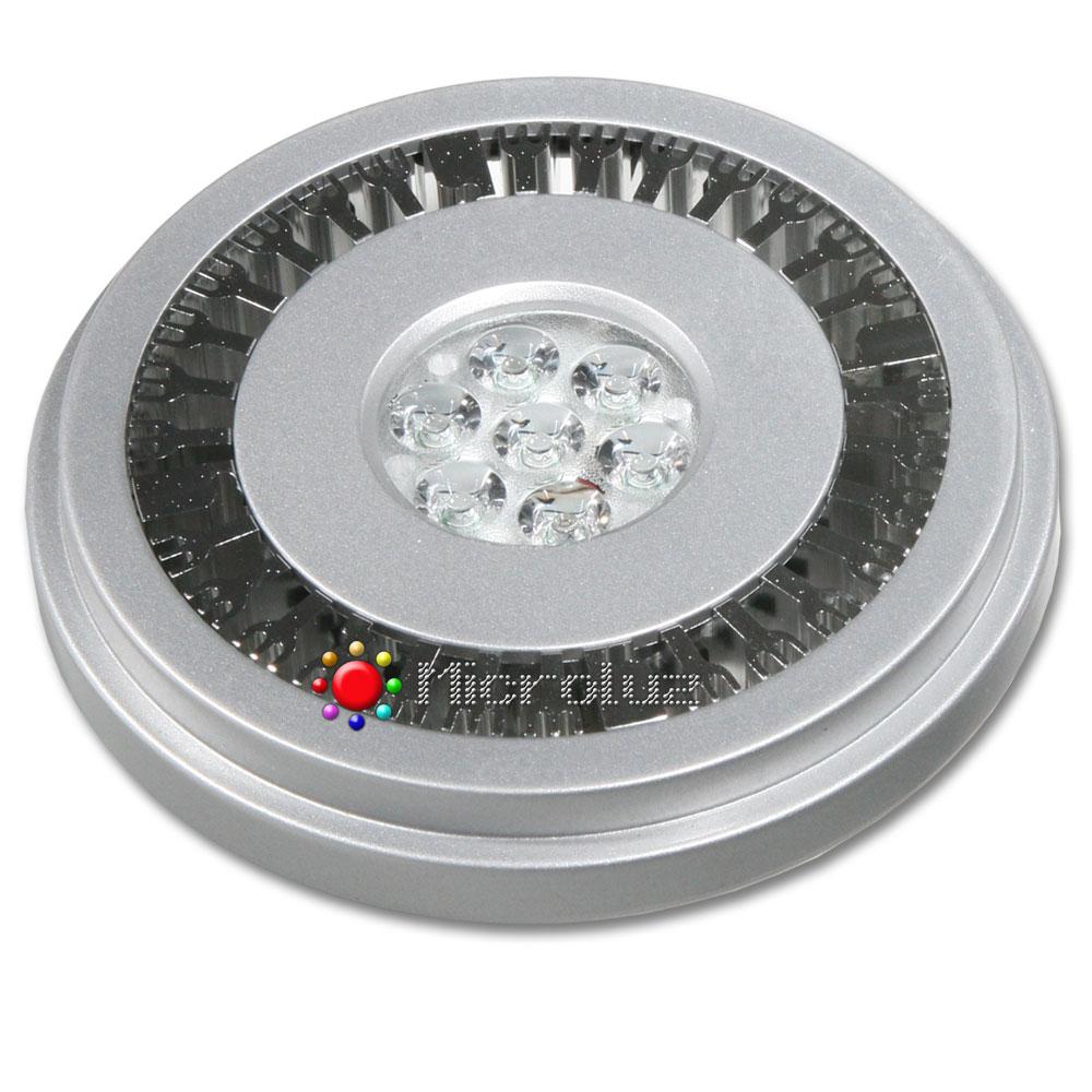 Bombilla LED QR111 12W 12V AC/DC Blanco Cálido 540Lm