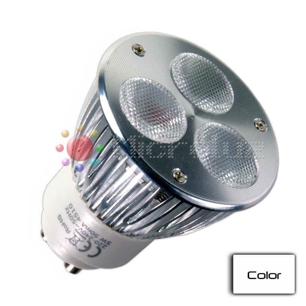 Bombilla LED Dicroica 5W GU10 BLANCO PURO