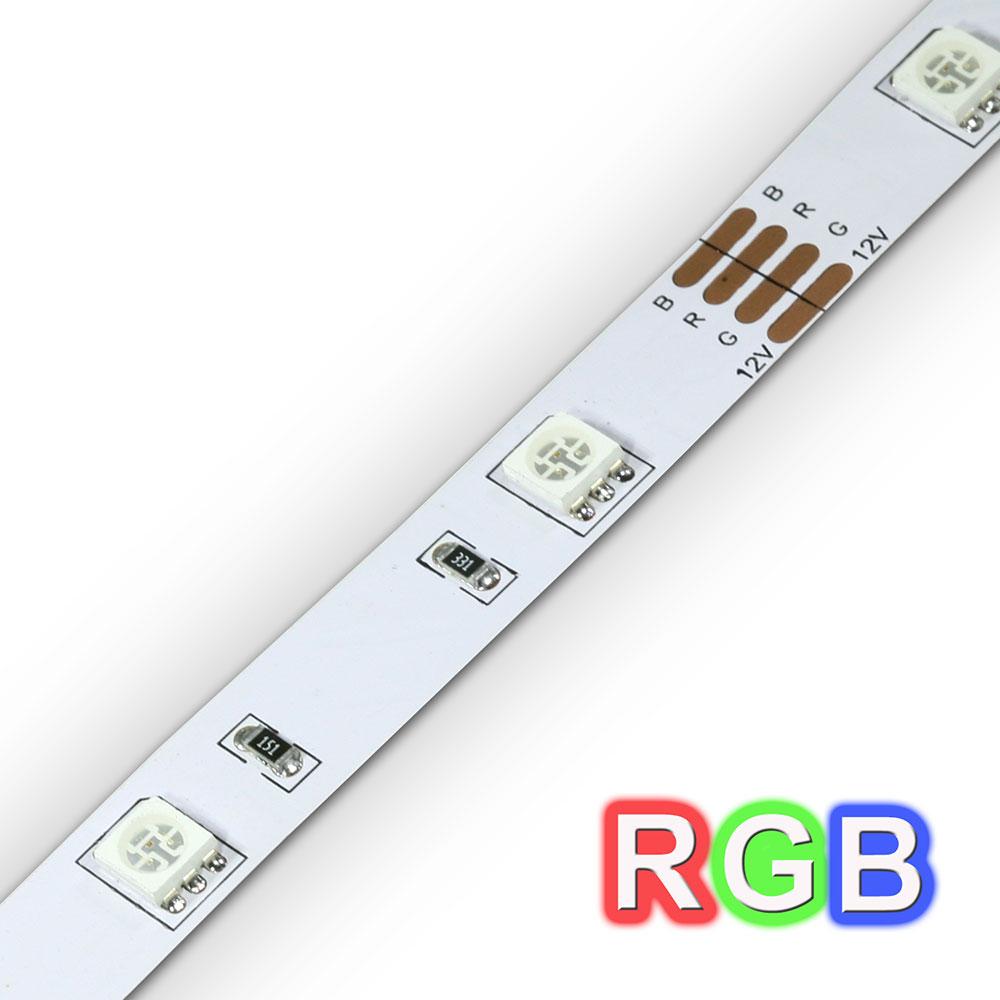 Tira de LED 1m autoadesivo- RGB