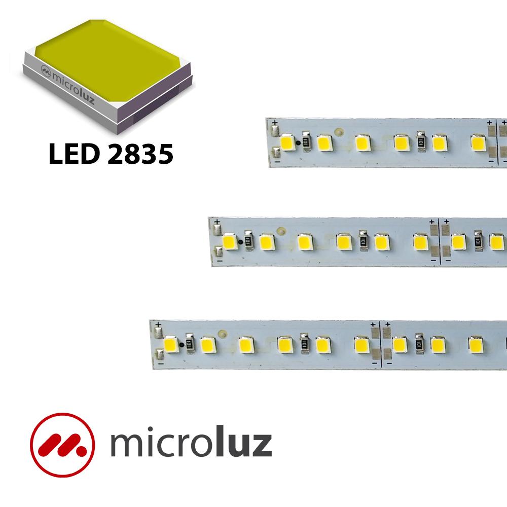 Tira de led alta potencia rígida blanco cálido 120LED/m