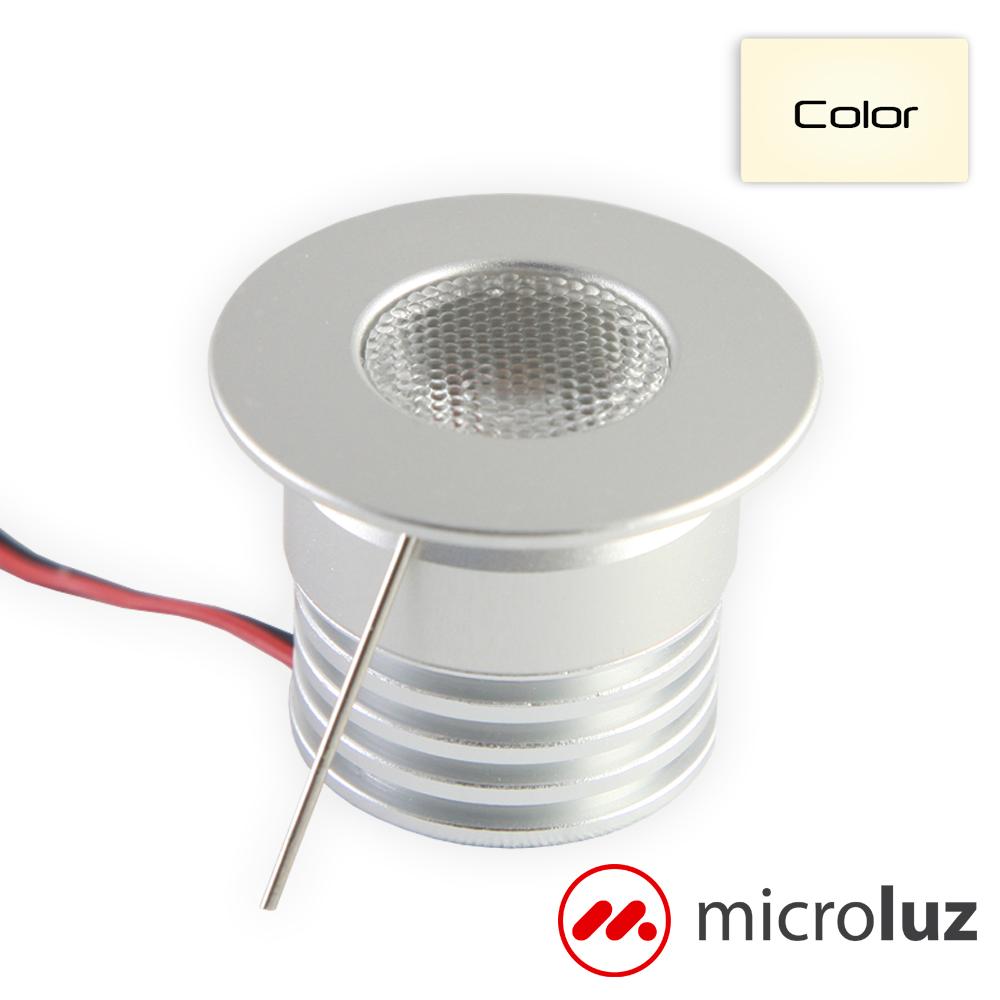 Mini Spot LED 4W Blanco Cálido