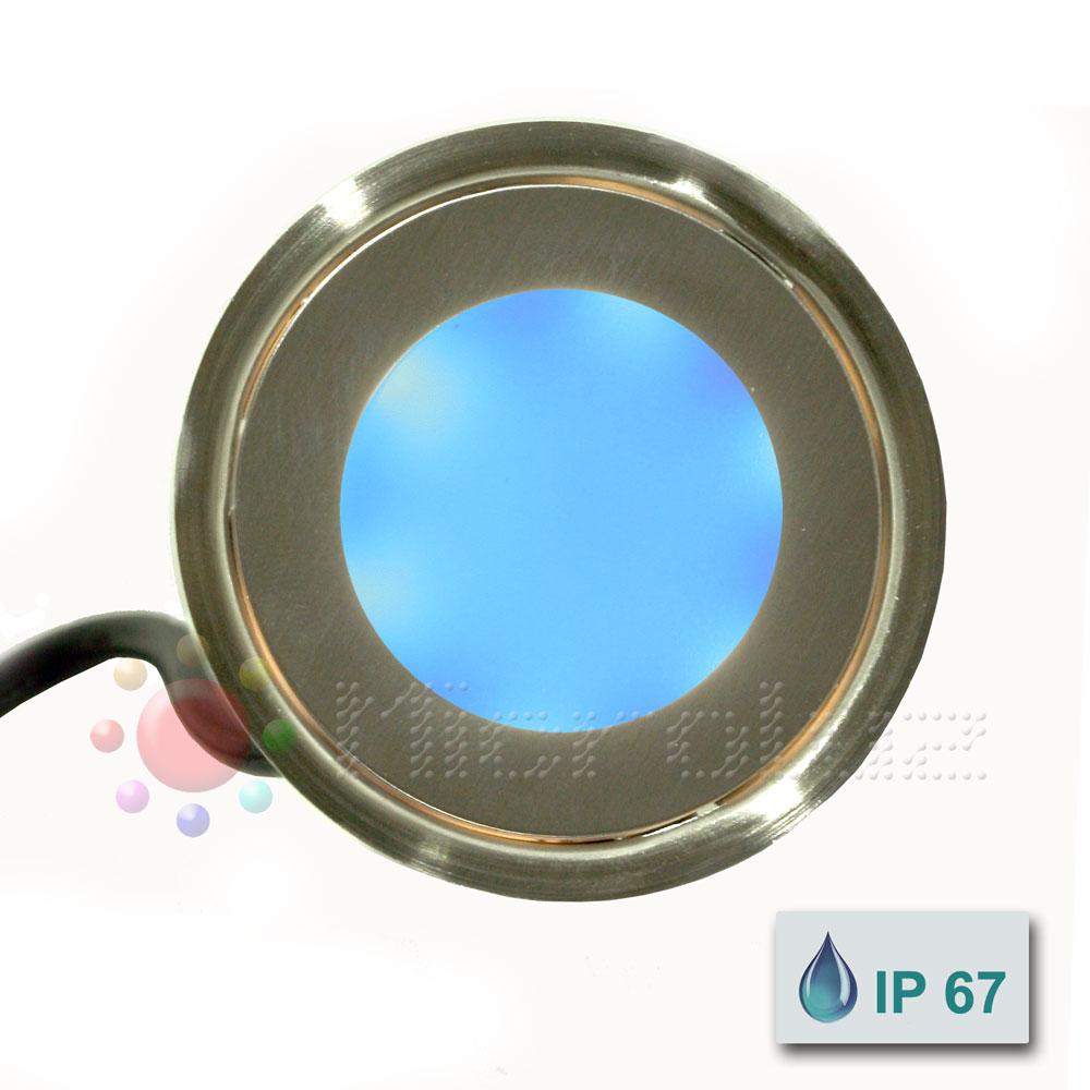 Empotrable LED 0,5 W Azul Eléctrico