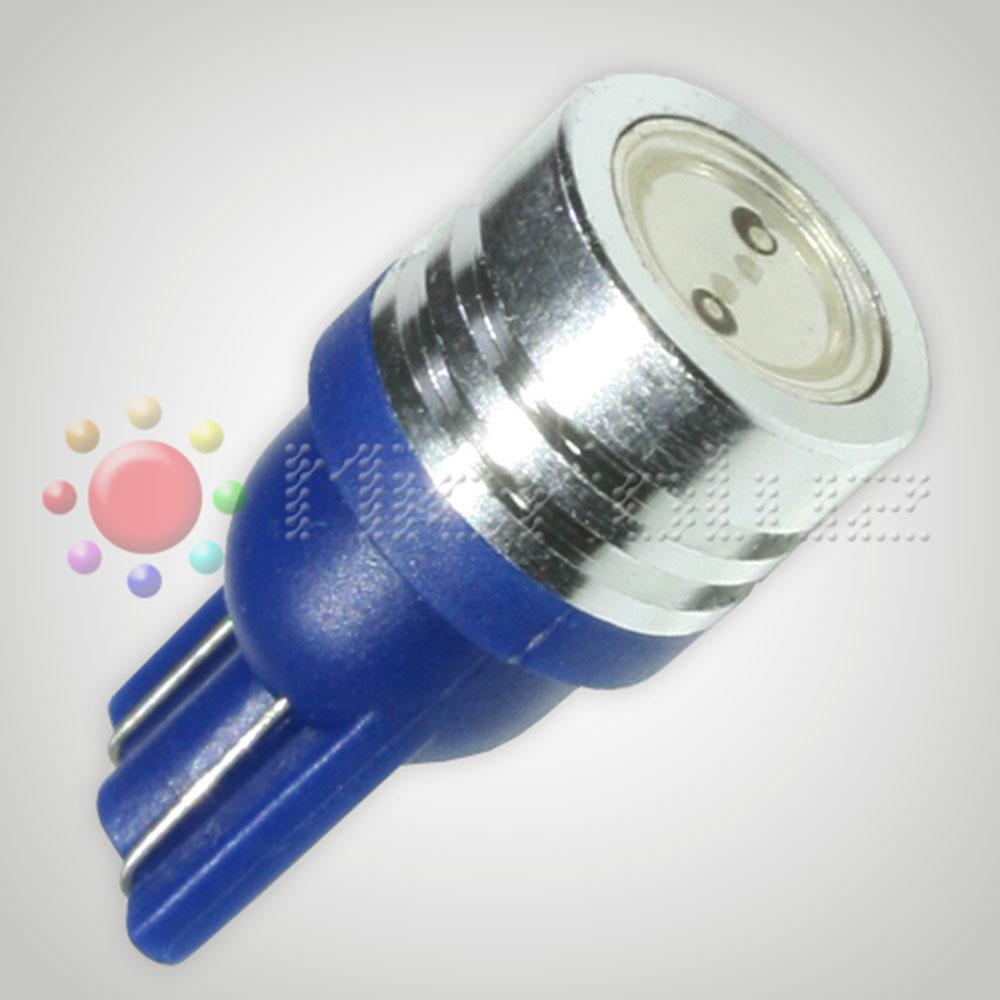 Bombilla LED SMD W5W 1W Ultraluminoso 6 Nucleos AZUL Eléctrico