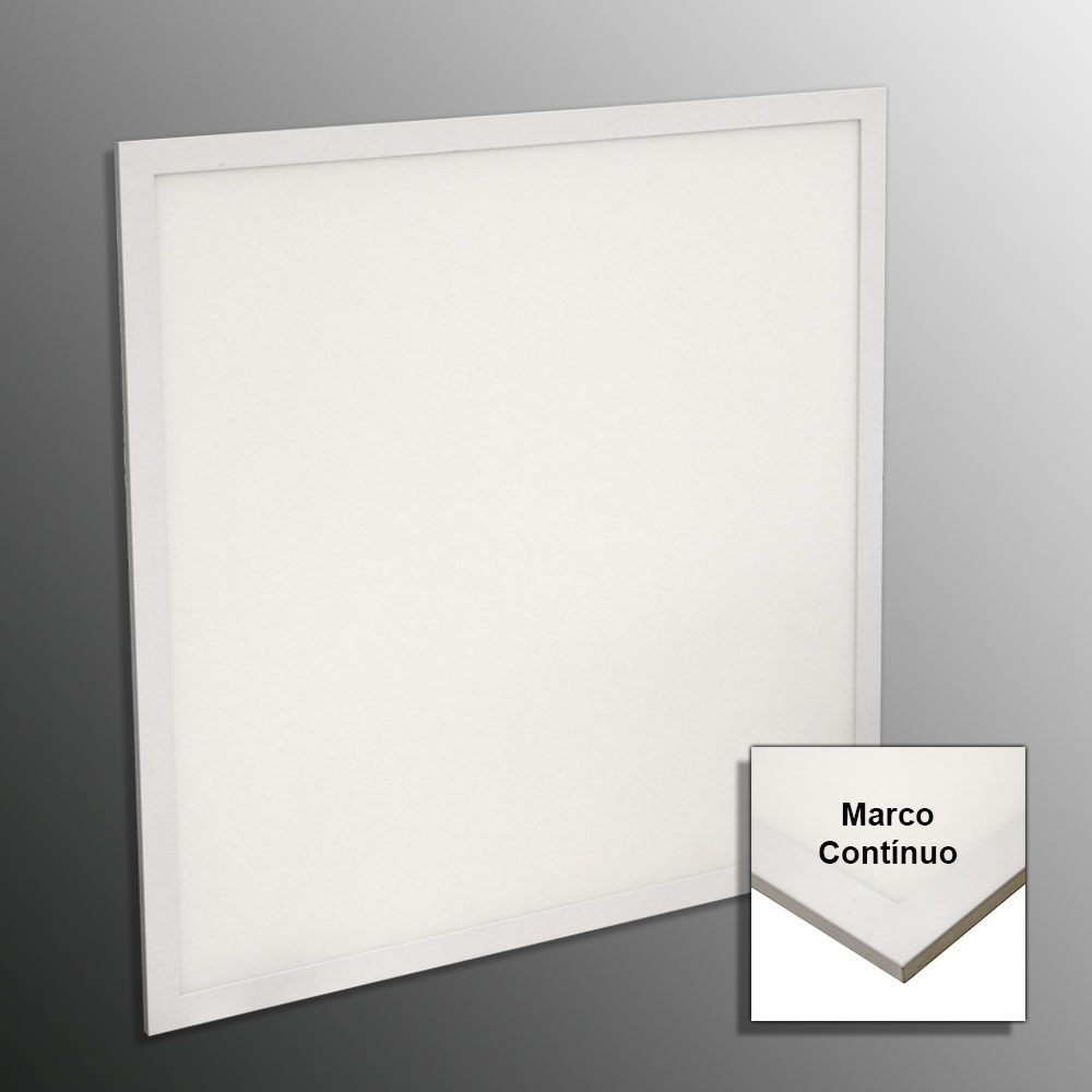 Panel LED 60x60 cm Blanco Neutro 40W-5000K