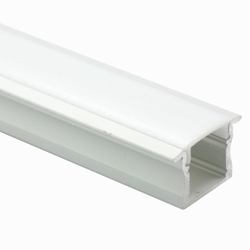 Perfil de aluminio empotrable 60º 16mm