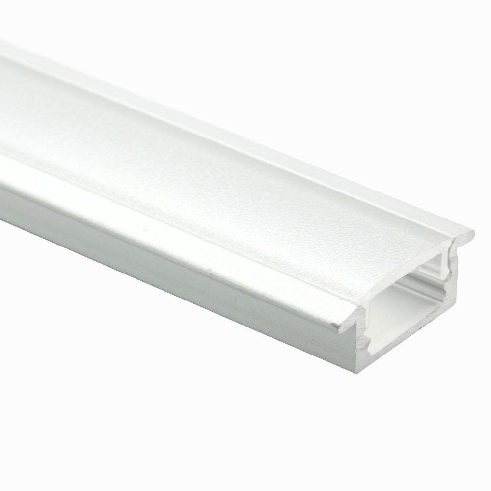 Perfil de aluminio empotrable 120º 9mm