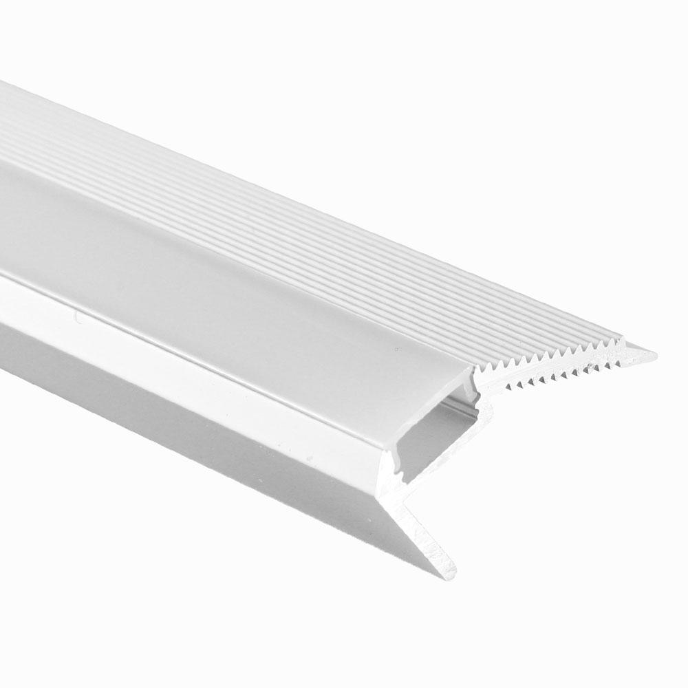Perfil de aluminio de escalón