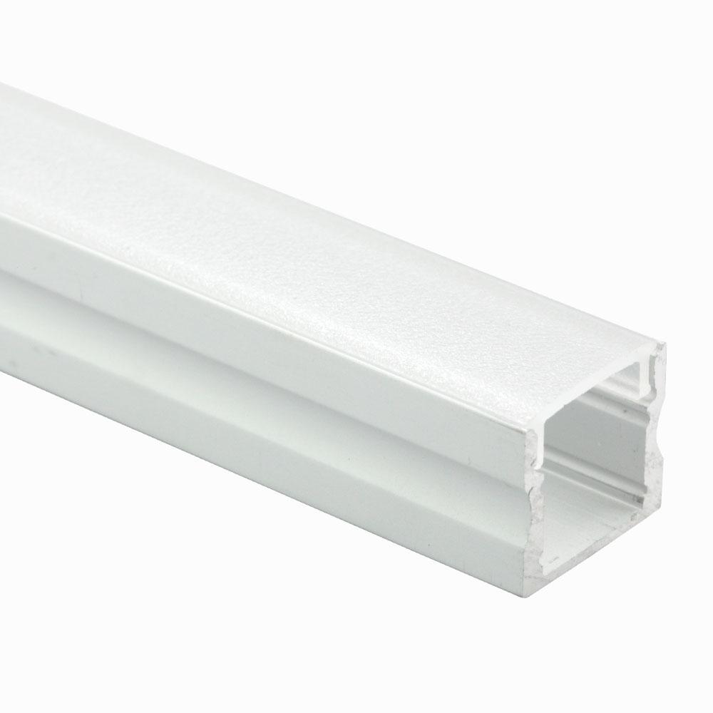 Perfil de aluminio superficie 60º 16mm