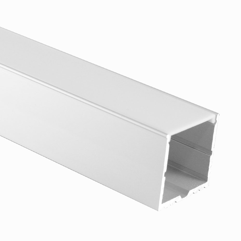 Perfil de aluminio superficie 60º 35mm