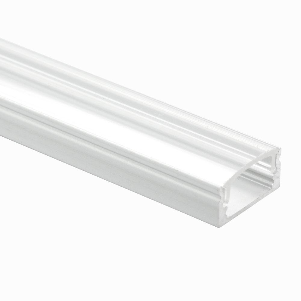 Perfil de aluminio superficie 120º 9mm