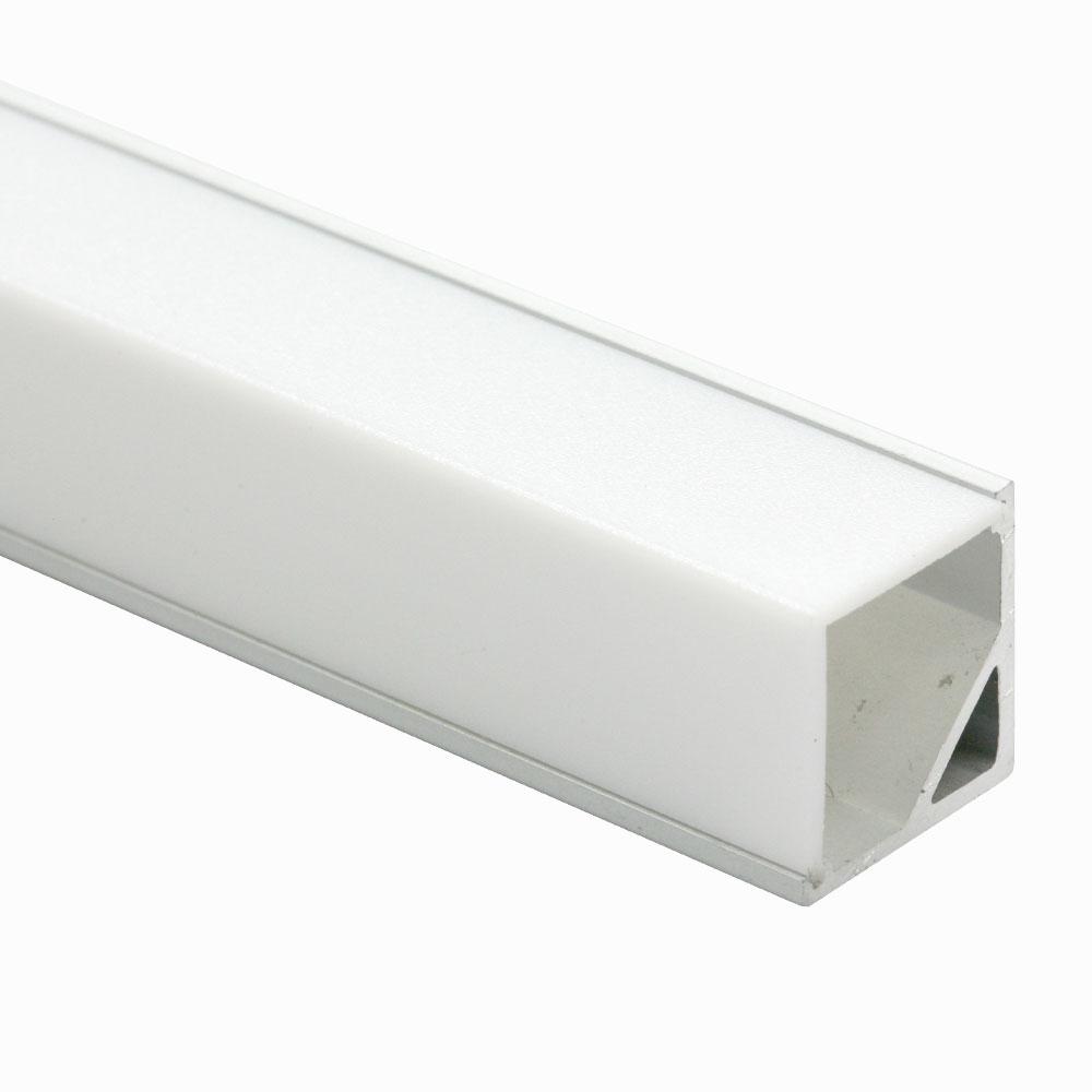 Perfil esquina para difusor cuadrado 120º 16mm