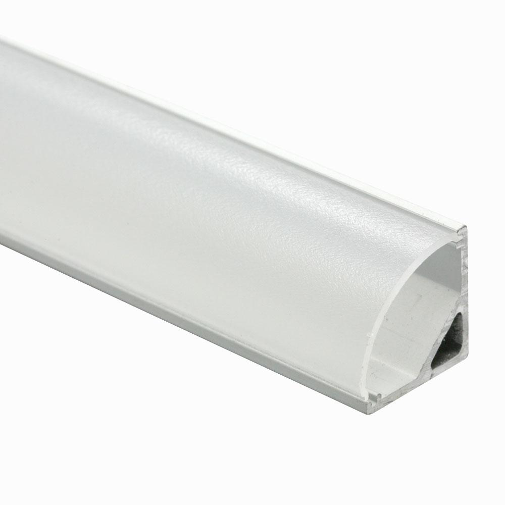 Perfil esquina para difusor redondo 120º 16mm