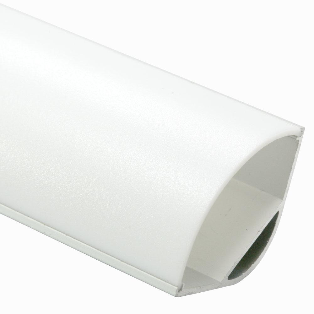 Perfil de aluminio esquina 120º 30mm