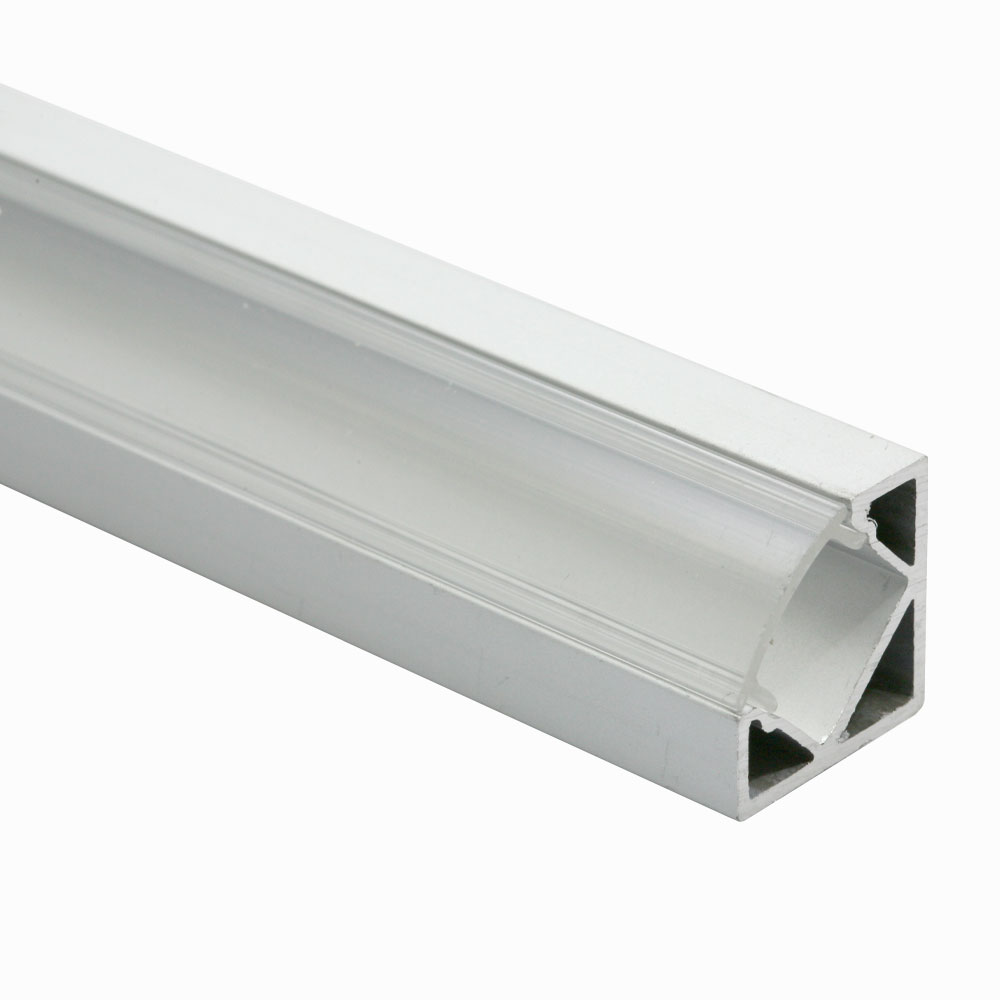 Perfil triangular de superficie 60º 20mm