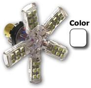 Bombilla Spider LED SMD P21W Blanco Xenón