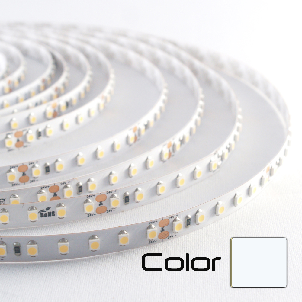 Tira LED 24V 120LED/m 6000K