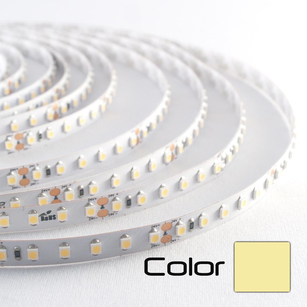 Tira LED 24V 120LED/m 3000K