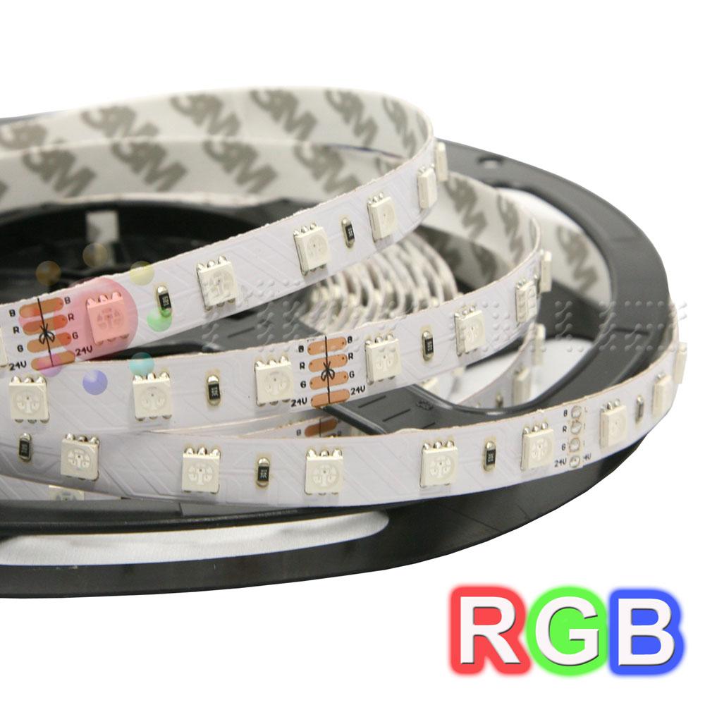 Tira de LEDs 5 metros SMD RGB Doble Densidad