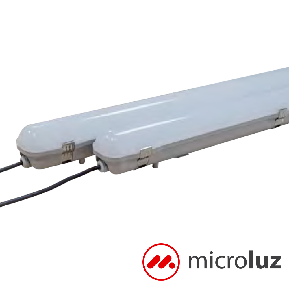 Luminaria LED 40W IP65 127cm