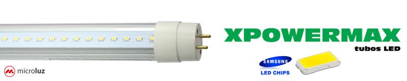 tubos LED Microluz